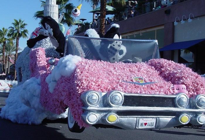 Palm Desert Golf Cart Parade