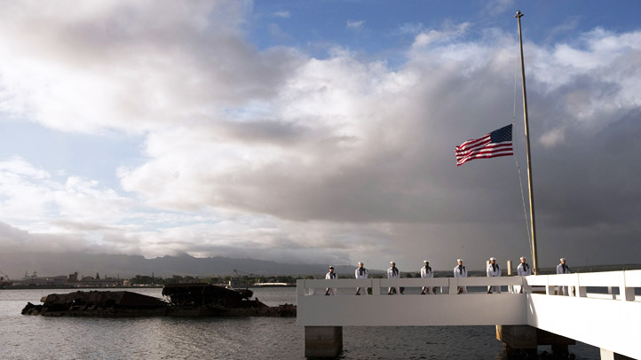 Pearl Harbor Burial