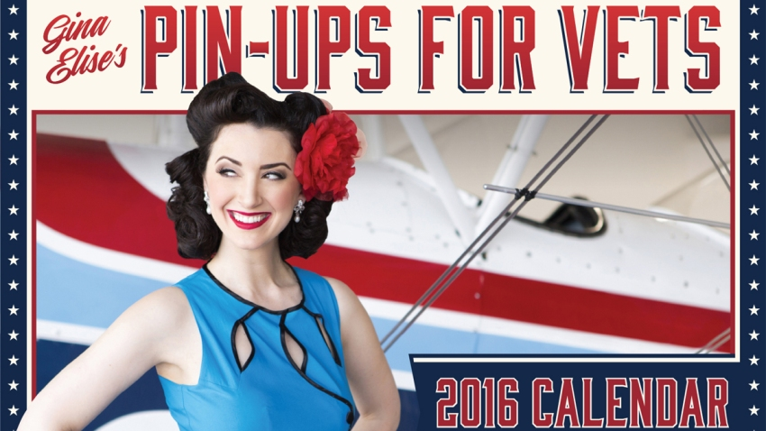 pin up for vets calendar cover 2016
