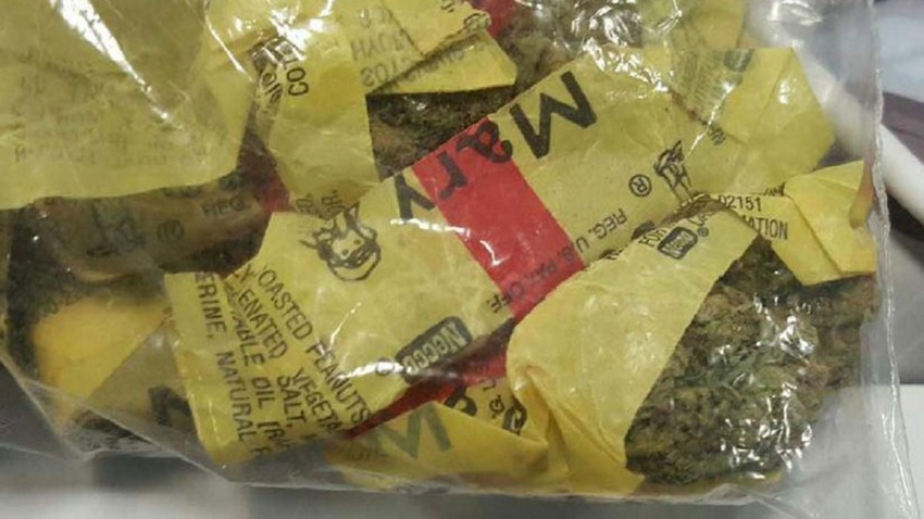 pot in mary jane wrappers