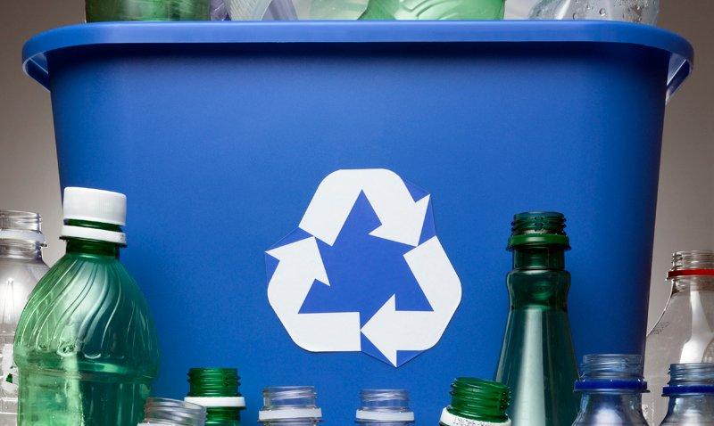 Botellas recicladas