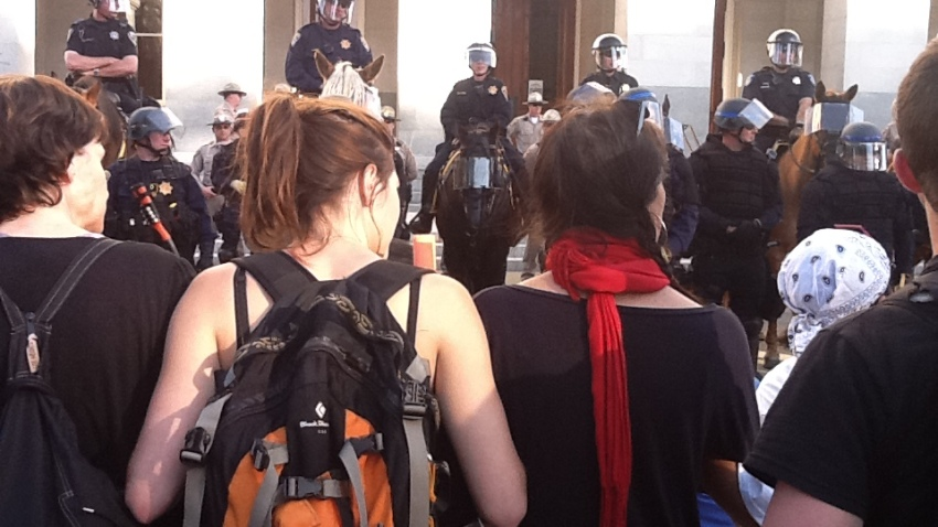 Riot Police in Sacramento