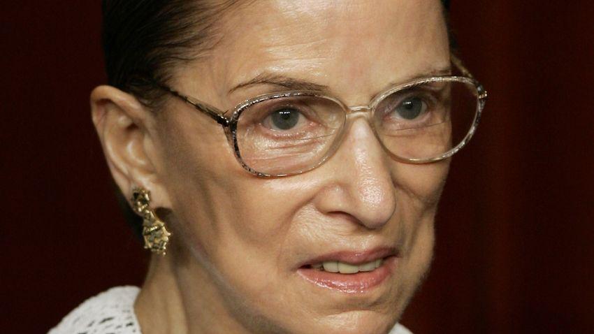 Ginsburg Hospitalized