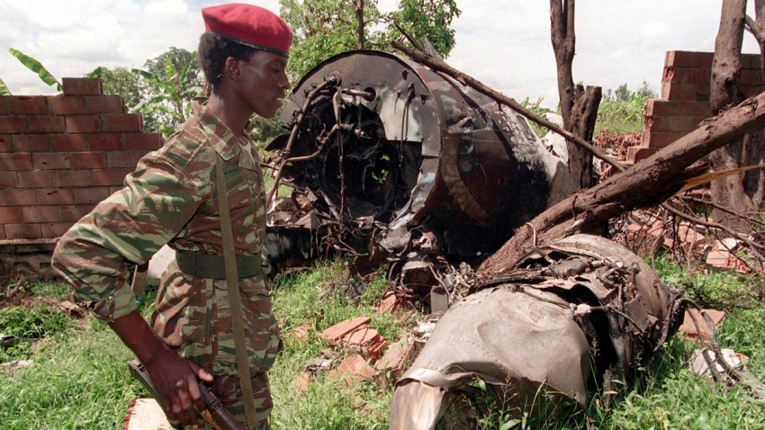 France Rwanda Presidents Crash