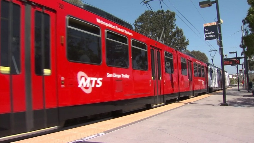 san diego mts trolley