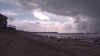 san diego rain storm clouds imperial beach