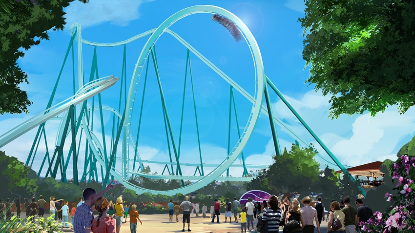seaworld Mako roller coaster
