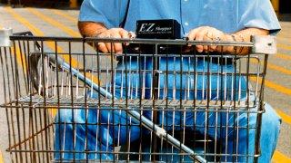 motorized shopping cart