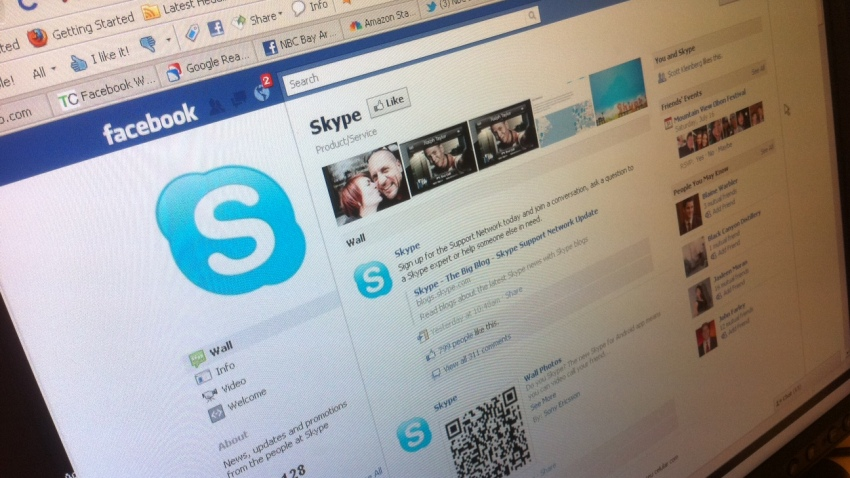 skype and facebook
