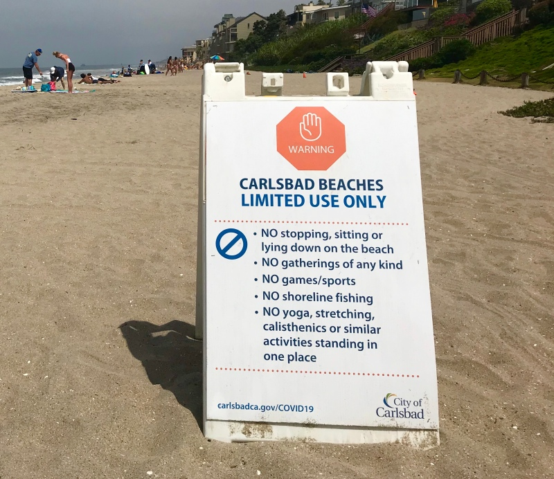Photos: Signs of the Coronavirus Impact in San Diego