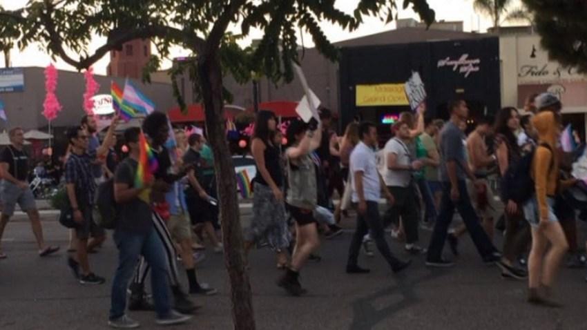 trans parade