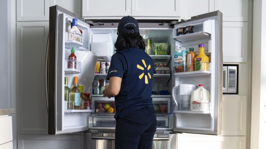 walmart fridge delivery
