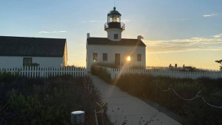 Cabrillo National Monument at sunset