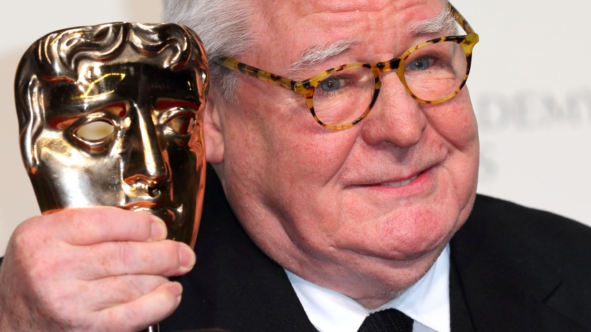 Alan Parker poses in the Press Room at the EE British Academy Film Awards at The Royal Opera House on February 10, 2013 in London, England.