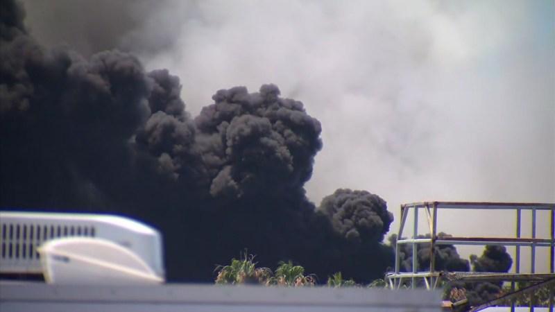 Photos: Thick Smoke Billows From Unforgiving Navy Ship Fire