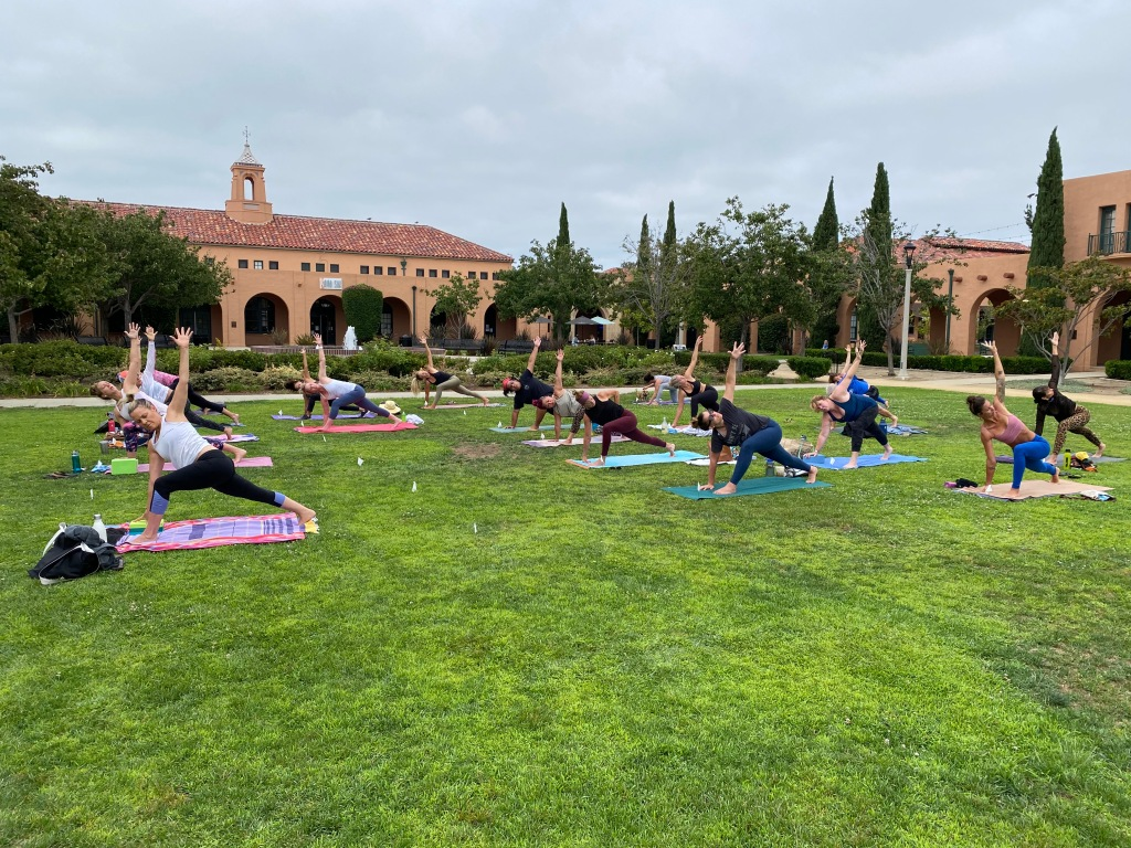 Yoga Classes Outside Liberty Station