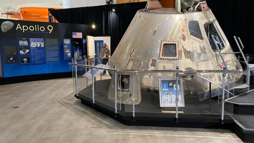Apollo 9 in the San Diego Air and Space Museum