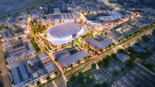 sports arena area redevelopment