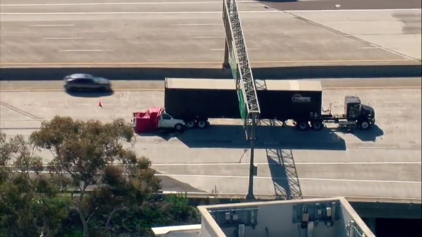 A truck and big-rig were involved in a deadly crash on SR-163