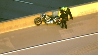 Fatal Motorcycle Crash on I-8