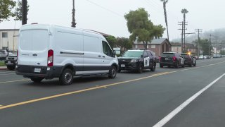 Authorities respond to a deadly stabbing in Spring Valley.