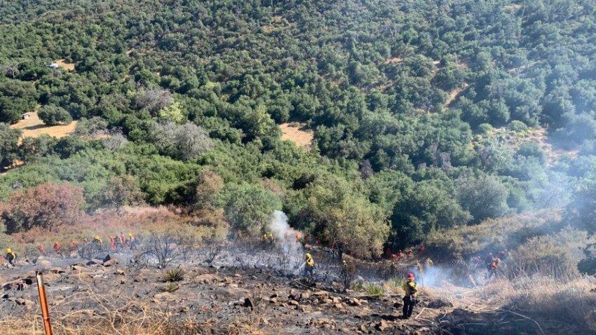 Cal Fire in Santa Ysabel