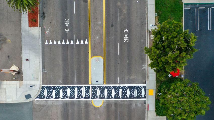 Encinitas Crosswalk Art