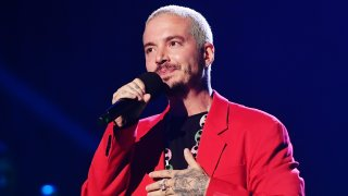 J Balvin speaks onstage during the 2020 Spotify Awards at the Auditorio Nacional on March 05, 2020