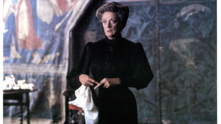 Maggie Smith in a scene from the film 'The Secret Garden', 1993