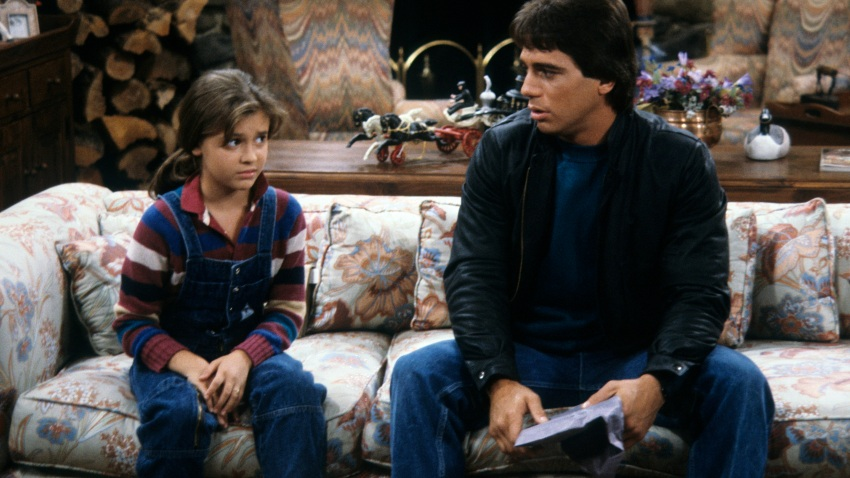 """Samantha's Growing Up,"" and episode of ""Who's the Boss?"" aired on Jan. 8, 1985. This photo shows Alyssa Milano and Tony Danza."