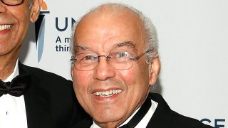 """Dr. Norman C. Francis at the 2013 UNFC """"A Mind Is"""" gala at New York Hilton and Towers on March 7, 2013 in New York City."""