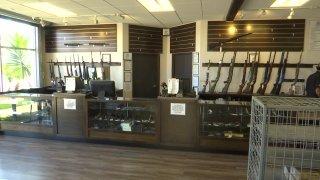 An image of the inside of The Gun Range San Diego in Kearny Mesa.