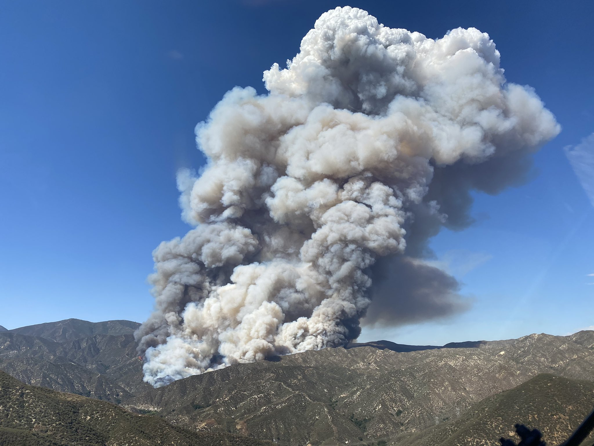 Homes Burn in 10,000-Acre Fire North of Los Angeles, San Diego Crews Sent to Help