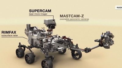Mars Rover Launches With the Work of 2 San Diego Companies
