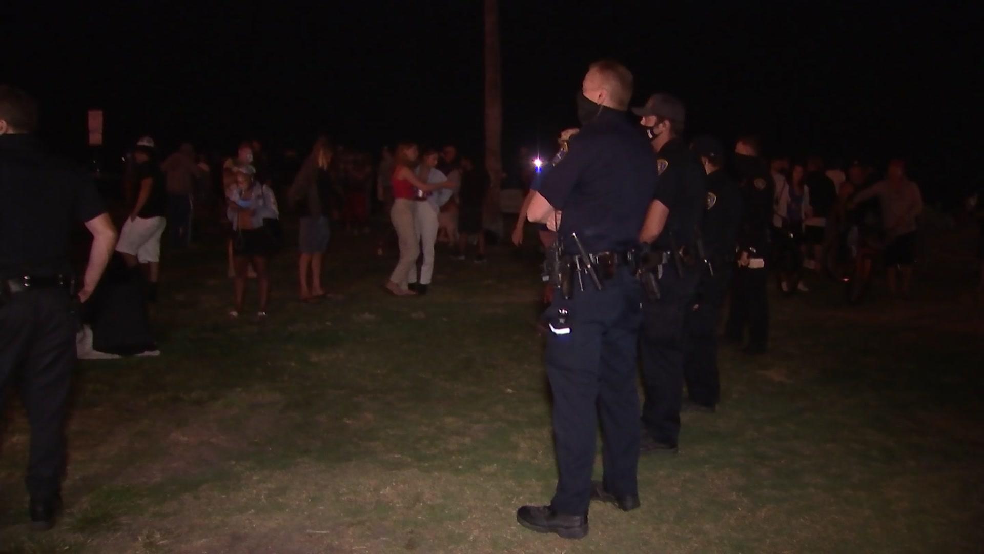 Police Break Up Weekly OB Drum Circle