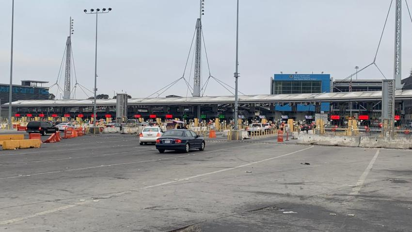 Short lines at the San Ysidro Port of Entry after days of delays.