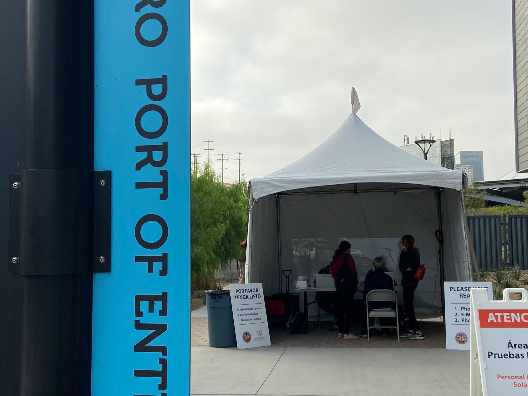 Free Coronavirus Testing Now Available at San Ysidro Port of Entry