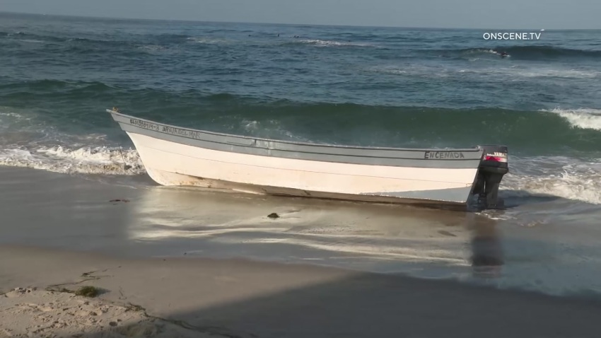 Five Mexican nationals were arrested on Sunday, Sept. 20, 2020 after a panga boat was discovered in La Jolla.