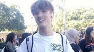 An undated image of 15-year-old Devin Griffiths, who was fatally stabbed on Jan. 31, 2020 at a party in Chula Vista.