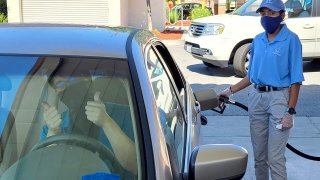 The Helpful Honda people will be pumping gas for firefighters, Honda owners and other lucky drivers in San Diego County beginning Monday, Sept. 21 for a limited-time promotion.