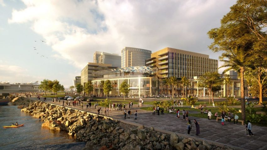 The proposed Research and Development District, to be built along San Diego's waterfront