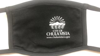 A look at the facial covering that the City of Chula Vista will be giving to its residents for free.