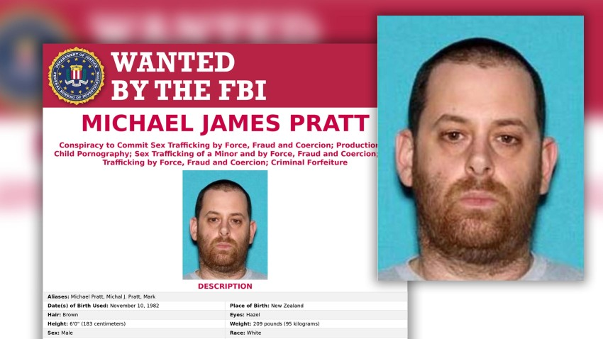 The FBI is offering a $10,000 reward for tips that lead to Michael James Pratt's arrest.