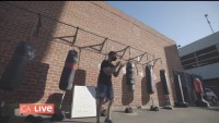 Break a Sweat With Outdoor Boxing Class