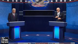 Saturday Night Live's Season 46 premier saw Alec Baldwin revive his role as President Trump, this time opposite Jim Carrey as Joe Biden.