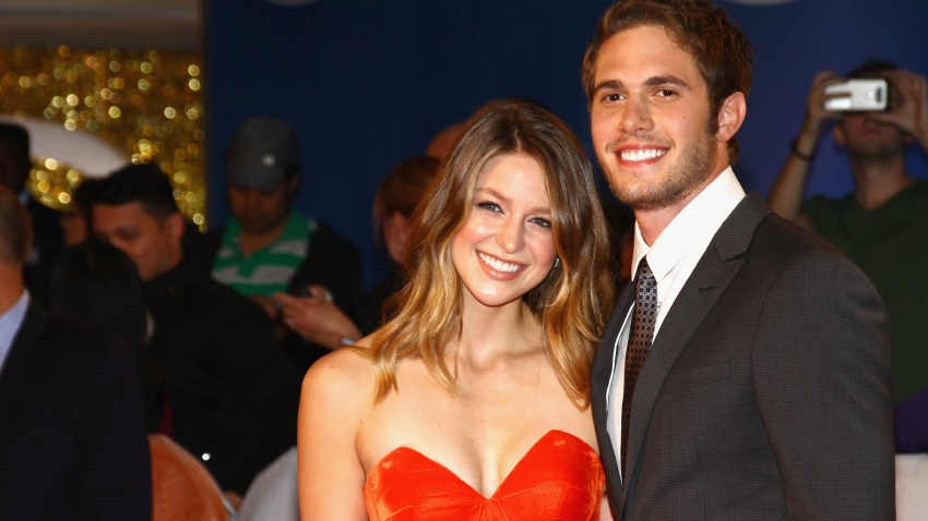 """In this Sept. 17, 2016, file photo, actors Melissa Benoist and Blake Jenner attend the """"The Edge of Seventeen"""" premiere held at Roy Thomson Hall during the Toronto International Film Festival in Toronto, Canada."""