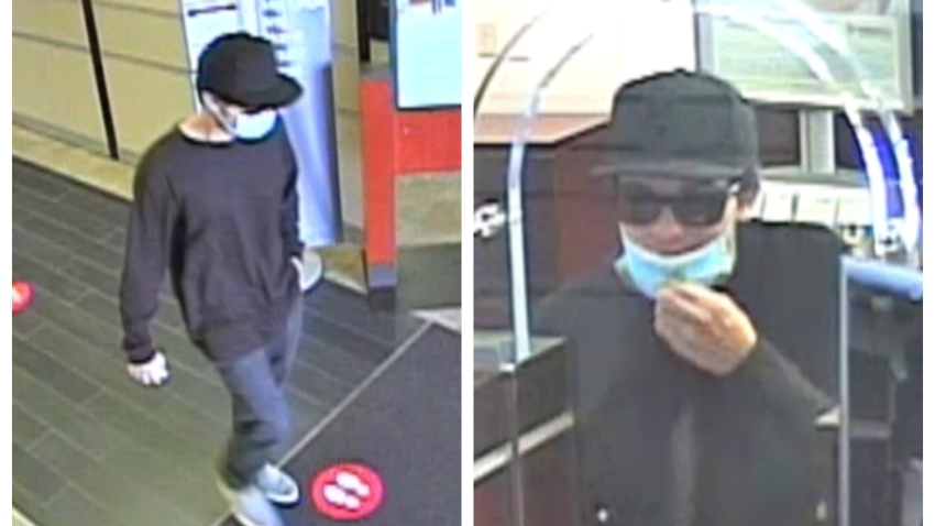 Police in Carlsbad are searching for a man who robbed a bank on Thursday, Oct. 2020.