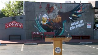 Convoy Mural at Cross Street Chicken