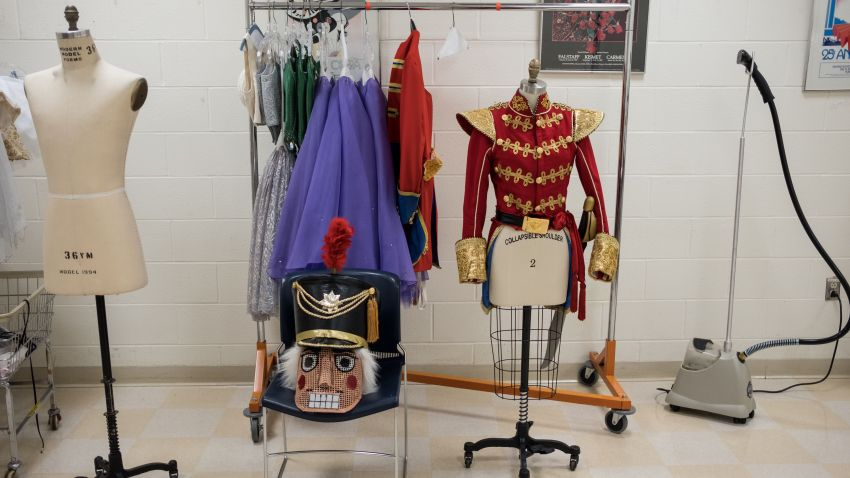 """Costumes are seen during Dayton Ballet's production of """"The Nutcracker"""""""