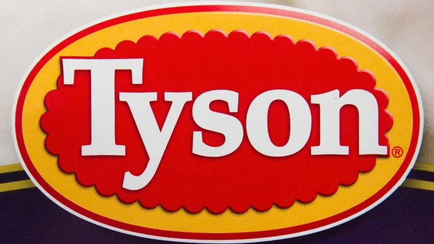 The Tyson Foods Inc. logo is seen on a package